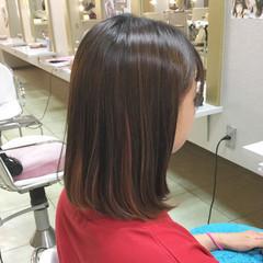 大人かわいい ヘアアレンジ ミディアム ストリート ヘアスタイルや髪型の写真・画像
