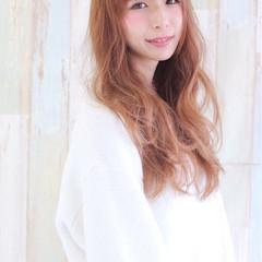 ガーリー 大人女子 冬 ロング ヘアスタイルや髪型の写真・画像