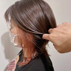 ナチュラル可愛い ミディアム モテ髪 ガーリー ヘアスタイルや髪型の写真・画像