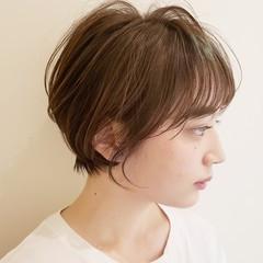オフィス デート ショート 簡単ヘアアレンジ ヘアスタイルや髪型の写真・画像
