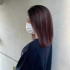 ミディアム 外国人風 ブリーチ ハイライト ヘアスタイルや髪型の写真・画像