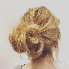 ショート ミディアム ゆるふわ ヘアアレンジ ヘアスタイルや髪型の写真・画像