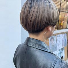ストリート 刈り上げ女子 刈り上げ マッシュヘア ヘアスタイルや髪型の写真・画像