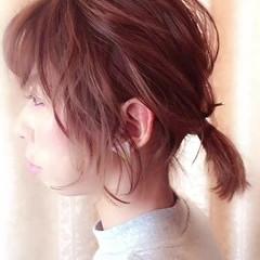 ナチュラル ウェーブ ヘアアレンジ オフィス ヘアスタイルや髪型の写真・画像