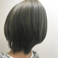 ショート モード 透明感 秋 ヘアスタイルや髪型の写真・画像