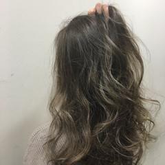 渋谷系 ナチュラル グラデーションカラー 外国人風 ヘアスタイルや髪型の写真・画像
