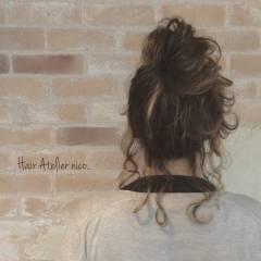 ヘアアレンジ 外国人風 大人かわいい ゆるふわ ヘアスタイルや髪型の写真・画像