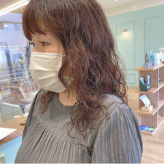 モテ髪 無造作パーマ デジタルパーマ ガーリー ヘアスタイルや髪型の写真・画像