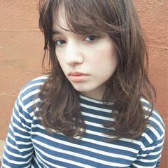 ハイライト 抜け感 ストリート パーマ ヘアスタイルや髪型の写真・画像