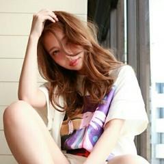 リラックス 大人かわいい 抜け感 ストリート ヘアスタイルや髪型の写真・画像