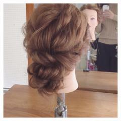 ロング フェミニン ゆるふわ ヘアアレンジ ヘアスタイルや髪型の写真・画像