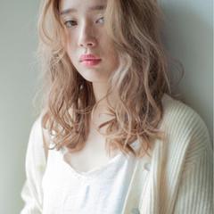 パーマ デジタルパーマ ロング 外国人風 ヘアスタイルや髪型の写真・画像