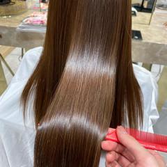 髪質改善トリートメント トリートメント 最新トリートメント ロング ヘアスタイルや髪型の写真・画像