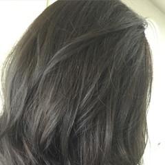外国人風 ストリート ボブ 暗髪 ヘアスタイルや髪型の写真・画像