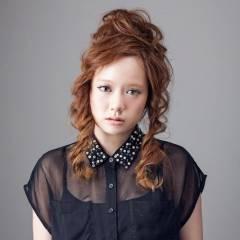 ヘアアレンジ 卵型 ヘアスタイルや髪型の写真・画像
