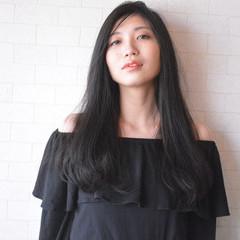 髪質改善 美髪 黒髪 ナチュラル ヘアスタイルや髪型の写真・画像