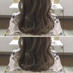 外国人風 ロング 透明感 秋 ヘアスタイルや髪型の写真・画像