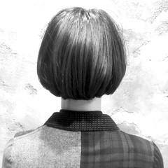 色気 外国人風 ストリート ボブ ヘアスタイルや髪型の写真・画像