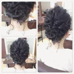 ゆるふわ フェミニン パーティ 大人かわいい ヘアスタイルや髪型の写真・画像