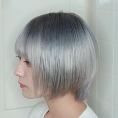 ハイトーンカラー モード ブリーチ ハイトーン ヘアスタイルや髪型の写真・画像