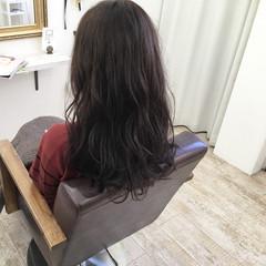 ダークアッシュ 秋 暗髪 ロング ヘアスタイルや髪型の写真・画像
