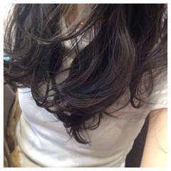 エレガント ローライト 上品 ロング ヘアスタイルや髪型の写真・画像