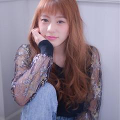 モテ髪 ロング 外国人風 ゆるふわ ヘアスタイルや髪型の写真・画像