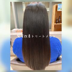 トリートメント 髪質改善トリートメント 暗髪女子 暗髪 ヘアスタイルや髪型の写真・画像