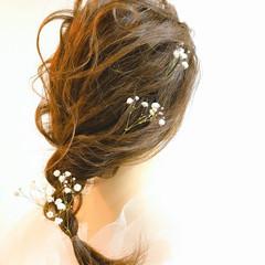 卒業式 ヘアアレンジ セミロング 成人式 ヘアスタイルや髪型の写真・画像