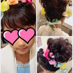 大人女子 結婚式 ヘアアレンジ お団子 ヘアスタイルや髪型の写真・画像