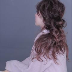 フェミニン ルーズ ゆるふわ ロング ヘアスタイルや髪型の写真・画像