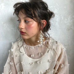 セミロング 秋 ナチュラル 冬 ヘアスタイルや髪型の写真・画像