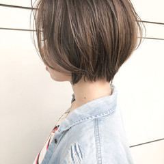 色気 外国人風 ハイライト ナチュラル ヘアスタイルや髪型の写真・画像