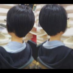 ショートボブ ショートヘア ショート 髪質改善 ヘアスタイルや髪型の写真・画像