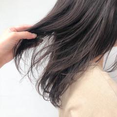 艶髪 セミロング 髪質改善トリートメント 最新トリートメント ヘアスタイルや髪型の写真・画像