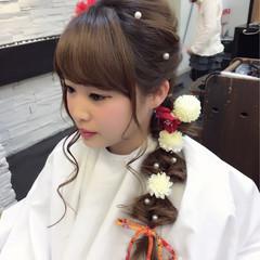 ガーリー ミルクティー ロング 大人女子 ヘアスタイルや髪型の写真・画像