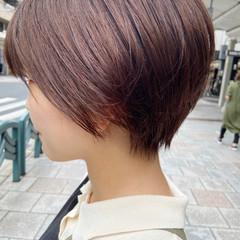 ハンサムショート ショートヘア ショート ナチュラル ヘアスタイルや髪型の写真・画像