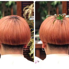 ショート カッパー 韓国風ヘアー 韓国ヘア ヘアスタイルや髪型の写真・画像