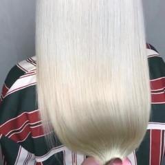 ストリート グレージュ ホワイトグレージュ 外国人風 ヘアスタイルや髪型の写真・画像