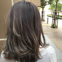 外国人風 グラデーションカラー バレイヤージュ ストリート ヘアスタイルや髪型の写真・画像