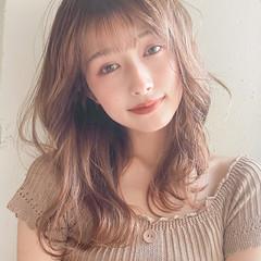 ガーリー 大人かわいい こなれ感 ロング ヘアスタイルや髪型の写真・画像