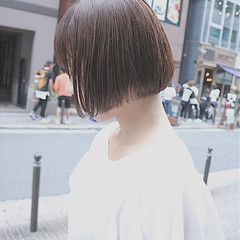 秋 イルミナカラー ナチュラル 大人かわいい ヘアスタイルや髪型の写真・画像