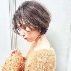 ヘアアレンジ アンニュイ ショート 簡単ヘアアレンジ ヘアスタイルや髪型の写真・画像