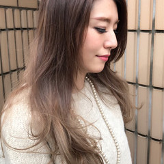 パーマ グラデーションカラー 外国人風カラー ナチュラル ヘアスタイルや髪型の写真・画像