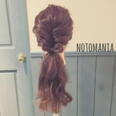 ゆるふわ ルーズ ストリート フェミニン ヘアスタイルや髪型の写真・画像