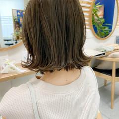 ナチュラル デジタルパーマ アンニュイほつれヘア ボブ ヘアスタイルや髪型の写真・画像
