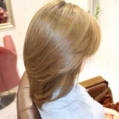 コンサバ 大人かわいい ミディアム 外国人風 ヘアスタイルや髪型の写真・画像