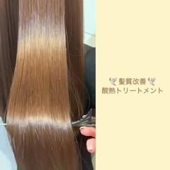 ナチュラル ロング トリートメント 髪質改善トリートメント ヘアスタイルや髪型の写真・画像