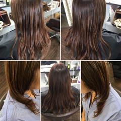 大人ハイライト スライシングハイライト ナチュラル 極細ハイライト ヘアスタイルや髪型の写真・画像