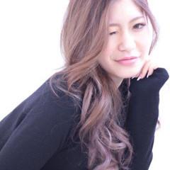 グラデーションカラー 大人かわいい 渋谷系 アッシュ ヘアスタイルや髪型の写真・画像